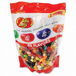 Jelly, Belly, 49, Flavors, Jelly, Bean, Bag, -, 1, Per, Bag
