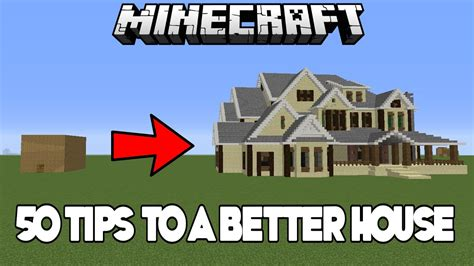 easy tips tricks  improve  house  minecraft