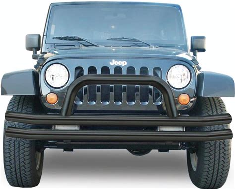 jeep bumper grill rage front double tube bumper for jeep grille guard