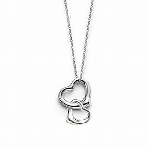 Tiffany & Co Double Open Heart Necklace – Bumping Hanger