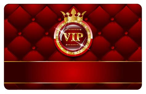 vip card template vector  vector sources