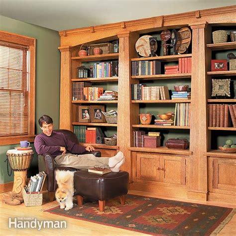 built  bookcases