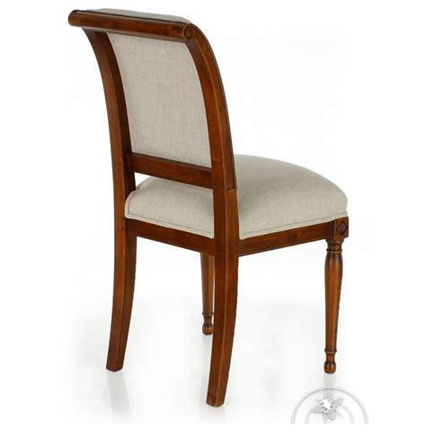 chaise tissu beige chaise ancienne bois et tissu beige directoire saulaie