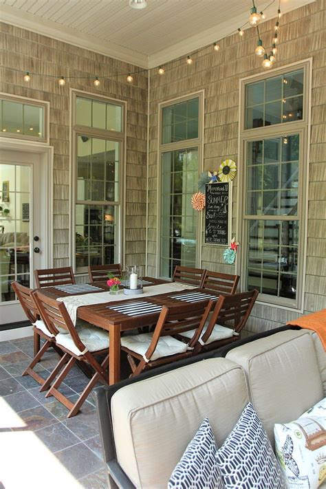Porch Table Set by Ikea 196 Pplar 214 Dining Set On A Screened Porch Furniture
