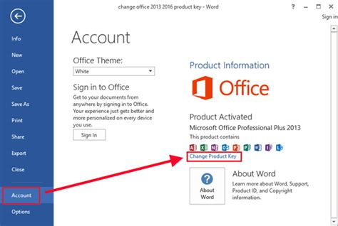 3 easy ways to change office 2013 2016 product key