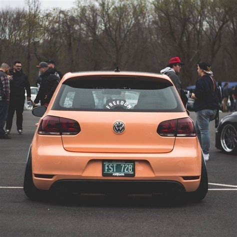 People, Car, Stance, Volkswagen Golf Mk6 Gti, Tuning