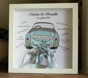 geld geschenk zur hochzeit  married auto