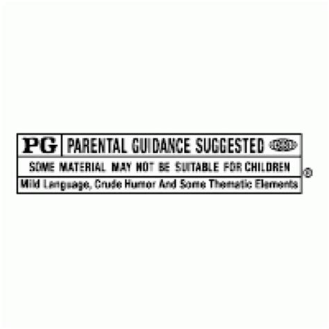 motion picture association pg rating logo vector eps