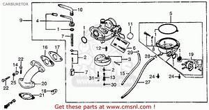 Honda Trx200 Fourtrax 200 1984 Usa Serial Numbers