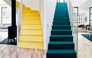 comment moderniser un escalier stunning conseils et id es With awesome peindre des escalier en bois 11 relooking descalier oeba