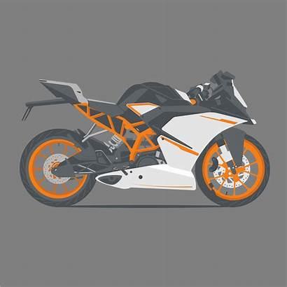 Bike Vektoren Vecteurs Sportbike Illustrations Adrenaline Sriti