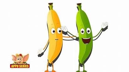 Banana Rhyme Fruits Cartoon Fruit Song Children