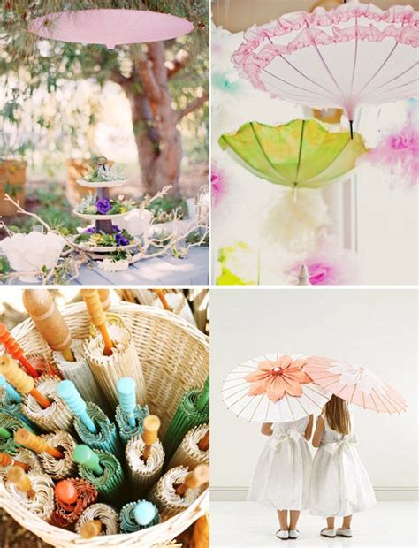 Decorar tu boda con sombrillas : una idea original