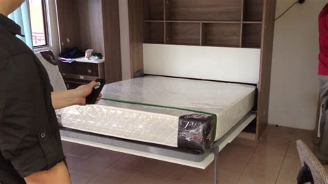 Motorised Wall Bed Queen Size