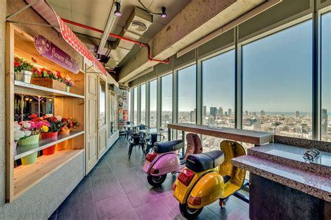 bureau de change design tel aviv office beautiful interiors