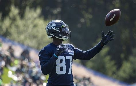 learned  seahawks training camp day  delano