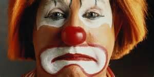 Famous Sad Clown Paint...