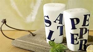 Spülmaschine Ohne Salz : salz und pfefferstreuer kennzeichnen ideen edding ~ Eleganceandgraceweddings.com Haus und Dekorationen