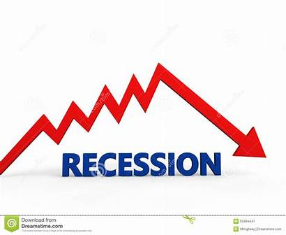 Recession Clipart Down Arrow Illustration Going Text