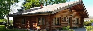 Maison En Rondin : la pessi re lodge et chalet en bois ronds fuste rondin ~ Melissatoandfro.com Idées de Décoration