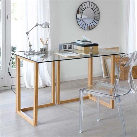 bureau design blanc laqué 39 idées déco de tréteaux pour créer une table ou un bureau