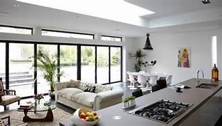 Modern Open Space Natural House Design Decora O De Sala Conjugada Deve Deixar Todo O Ambiente Bem
