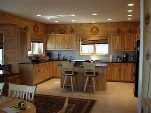 Beautiful pot lights in kitchen ceiling taste