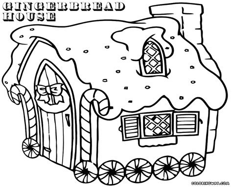 gingerbread house coloring page cool coloring pages gingerbread house coloring pages