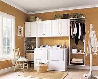 cabinets for laundry room Laundry Room Style Decisions - DIYdiva