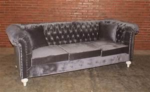 Chesterfield Sofa 3 Sitzer : barock chesterfield sofa 3 sitzer empire grau sofas sofas sessel chaiselongue shop ~ Bigdaddyawards.com Haus und Dekorationen