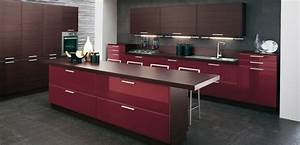 burgundy brown kitchen design and dark brown kitchen With kitchen cabinets lowes with brown and grey wall art