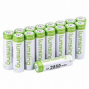 Aaa Batterien Kapazität : ebl 16 st ck 1100mah hohe kapazit t aaa ni mh wieder aufladbare batterien cavoyar ~ Markanthonyermac.com Haus und Dekorationen