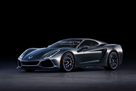 What If The Mid-engine Corvette C8 Looked Like This?