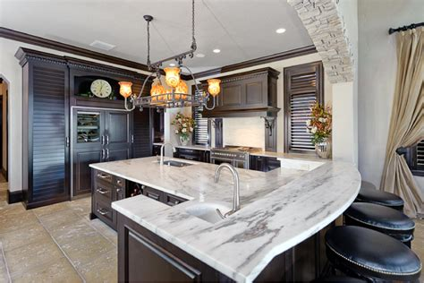Kitchen Lighting Ideas Over Island - kitchen island lighting system with pendant and chandelier amaza design