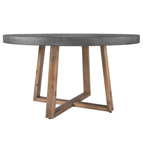 table de ronde table ronde r 233 sine et bois 140 cm koya design