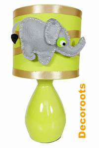 Lampe De Chevet Pour Enfant : lampe de chevet l phant collection jungle enfant b b luminaire enfant b b decoroots ~ Teatrodelosmanantiales.com Idées de Décoration