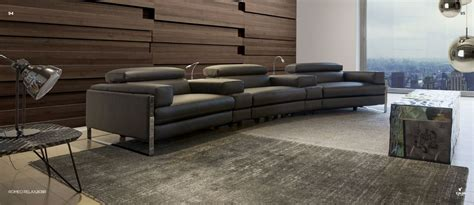 nicoletti canapé cannes home cinema seat sofa with power modules by calia