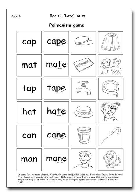 dandelion readers split vowel spellings workbook phonic