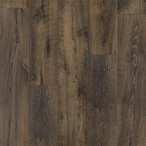 pergo max laminate flooring shop pergo max premier 7 48 in w x 4 52 ft l smoked chestnut embossed wood plank laminate