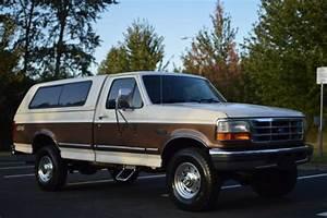 1996 Ford F250 4x4 Xlt Regular Cab Long Bed 351 V8 Low