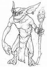 Gremlins Coloring Gizmo Deviantart Drawings Sketch Login Template sketch template