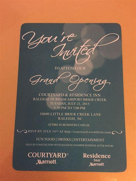 elegant invitation card design   hotel grand opening