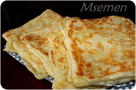 la recette des msemen avec astuce et methode blogs de cuisine
