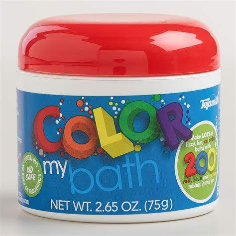 color my bath color my bath tablets world market