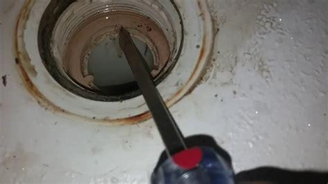 Leaking Shower Drain Youtube