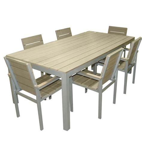ensemble table et chaise de jardin pas cher meuble de jardin solde salon resine tressee pas cher