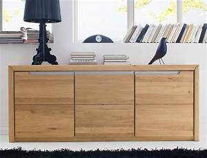Kommode Massiv Eiche : sideboard eiche massiv bianco 180x72x41 cm anrichte kommode schrank pisa 12 ebay ~ Watch28wear.com Haus und Dekorationen