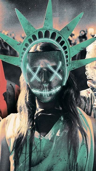 Purge Mask Election Movie Poster Movies Wallpapers