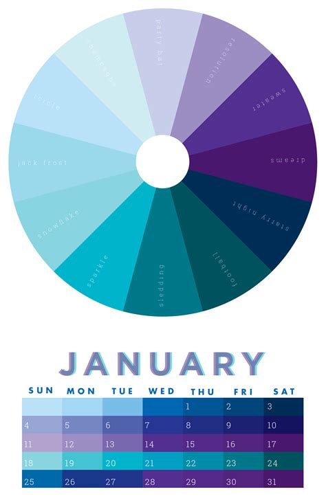 march color the colors of january 2015 chromophilia color wheel