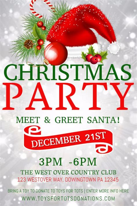 christmas twilight market flyer template free download3 40 best christmas poster templates images on pinterest